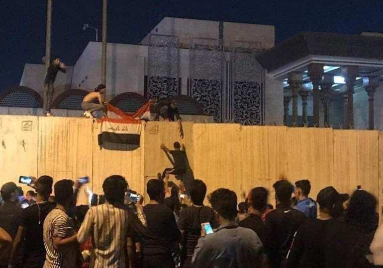 Iraqi protesters attack Iran consulate in Kabul