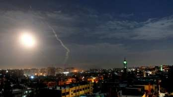 Israel and Syria exchange fire, Syrian aerial defence batteries destroyed, the Israeli military says