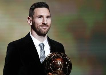 Messi: wins Ballon d'Or for record sixth time
