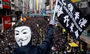 Hong Kong protest hits almost 1 million