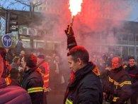 France pensions strike