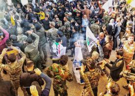 Iraqi Protesters storm US embassy over airstrikes on Shia militia