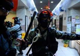 Homemade bomb explodes at Hong Kong hospital