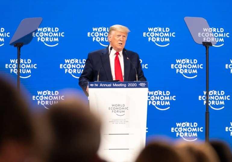 Trump's Davos speech