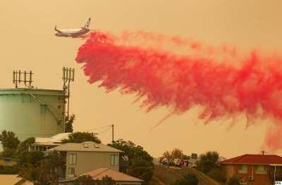 waterbombing plane may have crashed fighting australian bushfires