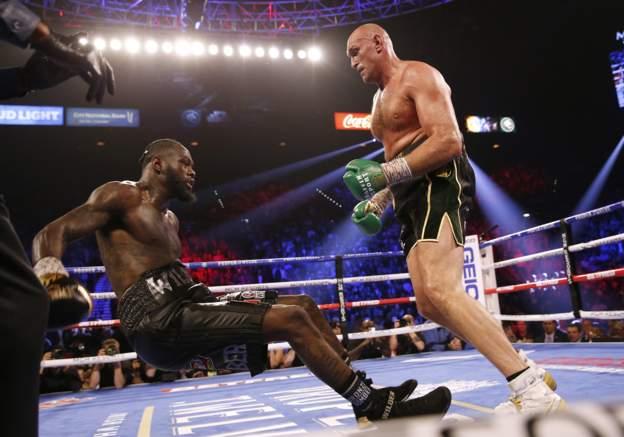 Fury destroys Wilder
