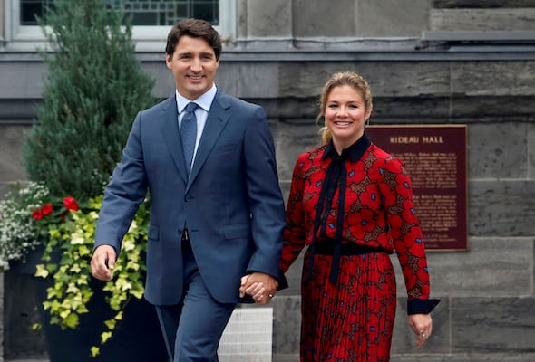 Canadian PM in isolation for two weeks after wife tests positive fr coronavirus