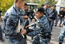 Kazakhstan protests - dozens detained after protesters death