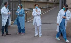 Spain overtakes China virus toll with 3,434 coronavirus deaths As hospitals are overun