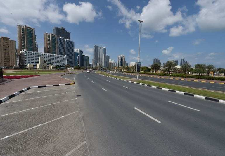 UAE weekend lockdown to dissinfect streets