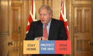 Boris Johnson returns to work