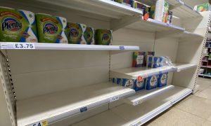 UK panic buying amid coronavirus fears