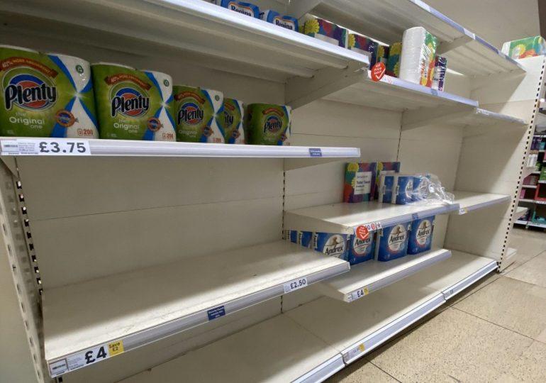 Coronavirus: Is the UK panic-buying?