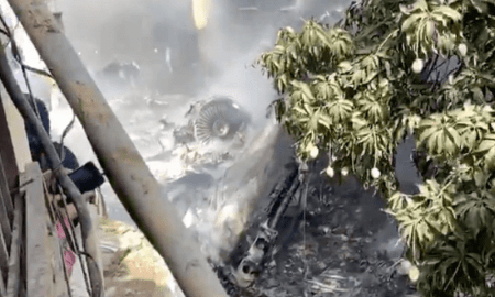 PIA plane crash in Karachi