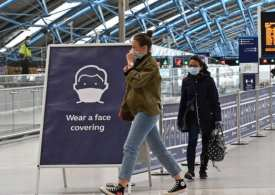 Face coverings compulsory on public transport in England
