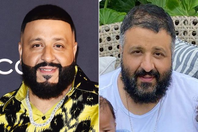 DJ Khaled in lockdown with quarrantine hair. vowing to get a hair cut - His origins are Palestinian and his religion is Islam and he repeatedly thanks God for his success