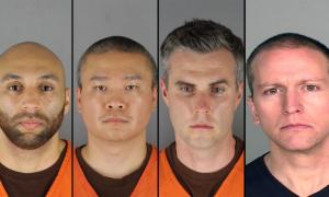 George Floyd: Officers charged, held on $1m bail, their charges explained