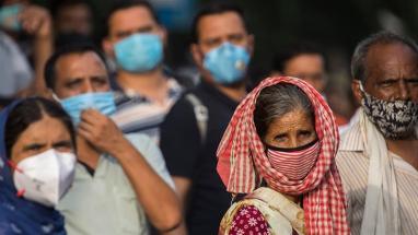 Almost a quarter of New Dehli has coronavirus, says study