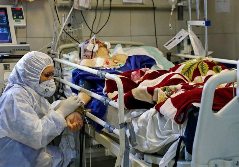 Iran reports record one-day virus death toll of 200