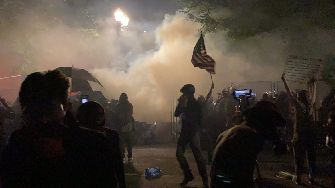 Protests in the US