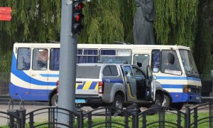 Ukraine bus siege ends with all 13 hostages free and gunman arrested