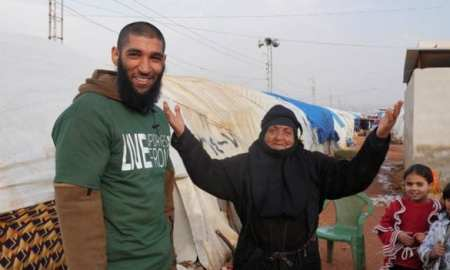 Yvonne Ridley negotiating the release of Tauqir Sharif from teh Syrian rebels - who set up a charity in Syria delivering aid