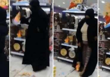 Bahrain: Woman,54, wearing burqa goes viral for smashing Hindu gods, nowcharged