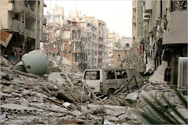 Beirut explosion -250,000 homeless - people want accountability and answers