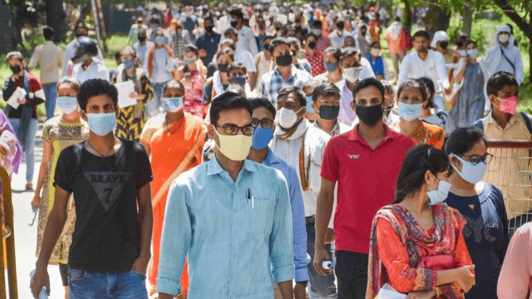 India sets world's highest single-day rise with 78,761 new coronavirus cases