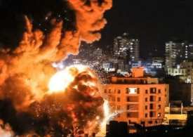 Israel launches new attacks on Hamas targets in Gaza, following 'explosive balloons' that started 80 fires