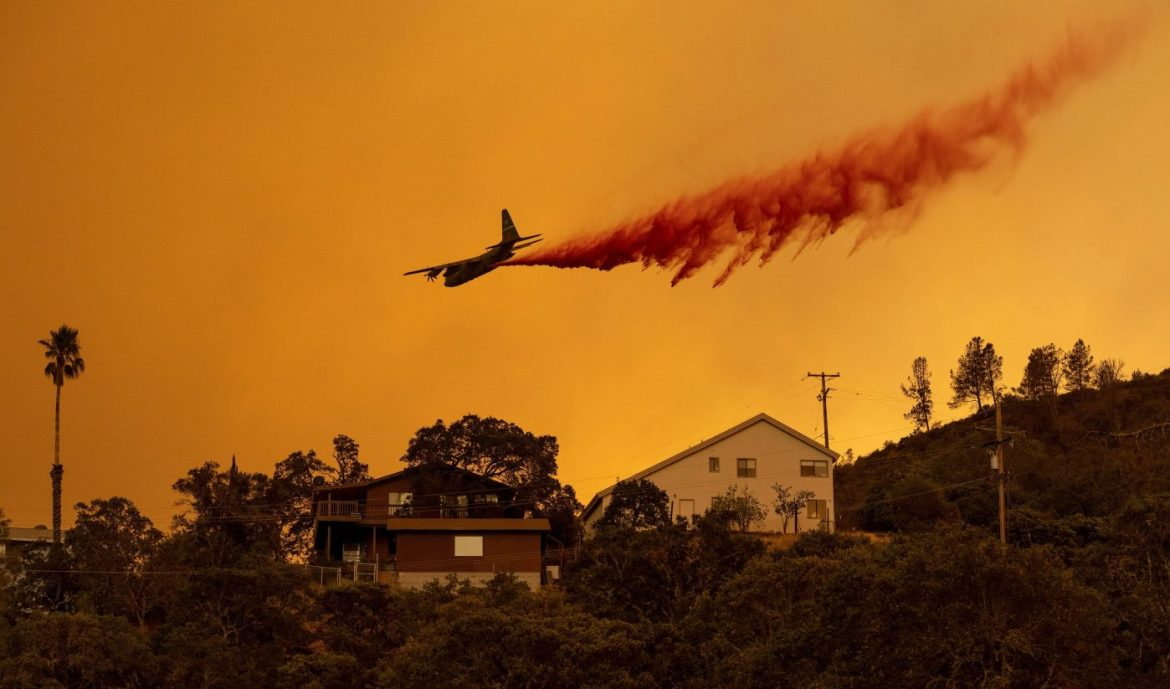 Northern California wildfires force mass evacuation as 300,000 acres burn