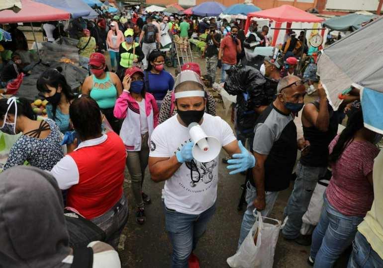 Venezuela market at centre of Caracas Covid-19 outbreak