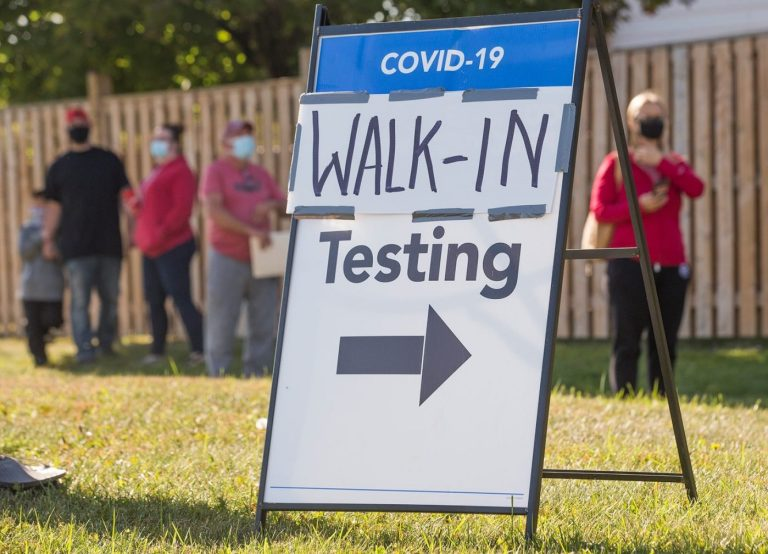 Covid-19 cases spike in Canada with authorities stepping up powers to police large gatherings