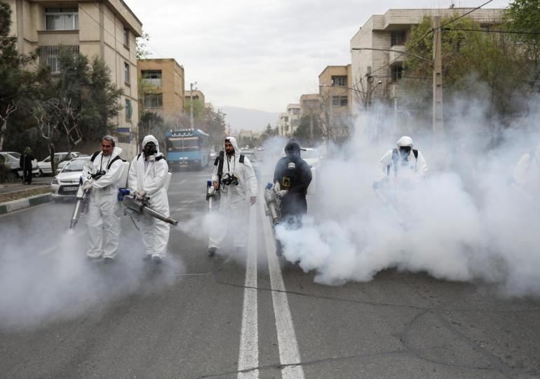 Iran's coronavirus death toll tops 22,000 - officials say schools will still open on Saturday