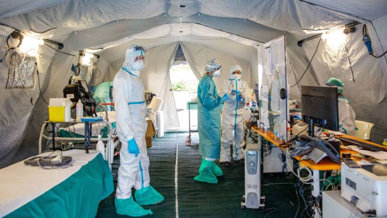 EU to fund transfer of Covid-19 patients between countries as strain on hospitals grows
