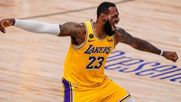 Lakers win NBA title