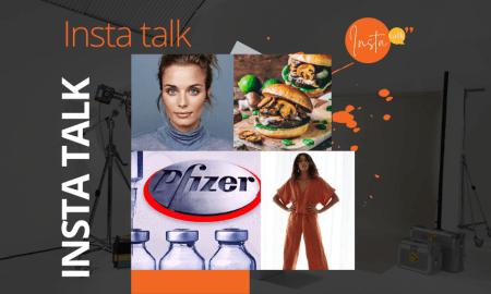 Insta Talk e13: Vaccine - Lockdown loungewear - Minimalistic makeup & meat-free burgers