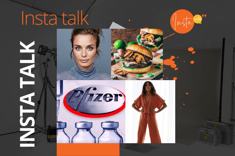 Insta Talk e13: Vaccine - Lockdown loungewear - Minimalist makeup & Meat-free burgers