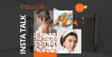 Insta Talk e12 LIVE: Covid-phobia - Headbands & lockdown hairstyles - healthy snacking!