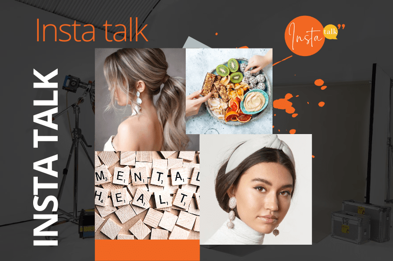 Insta Talk e12 LIVE: Covid-phobia - Headbands & lockdown hairstyles - healthy snacking!