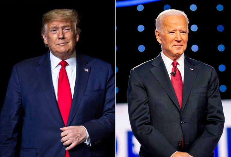 TRUMP SUES AS PATH TO VICTORY OVER BIDEN NARROWS