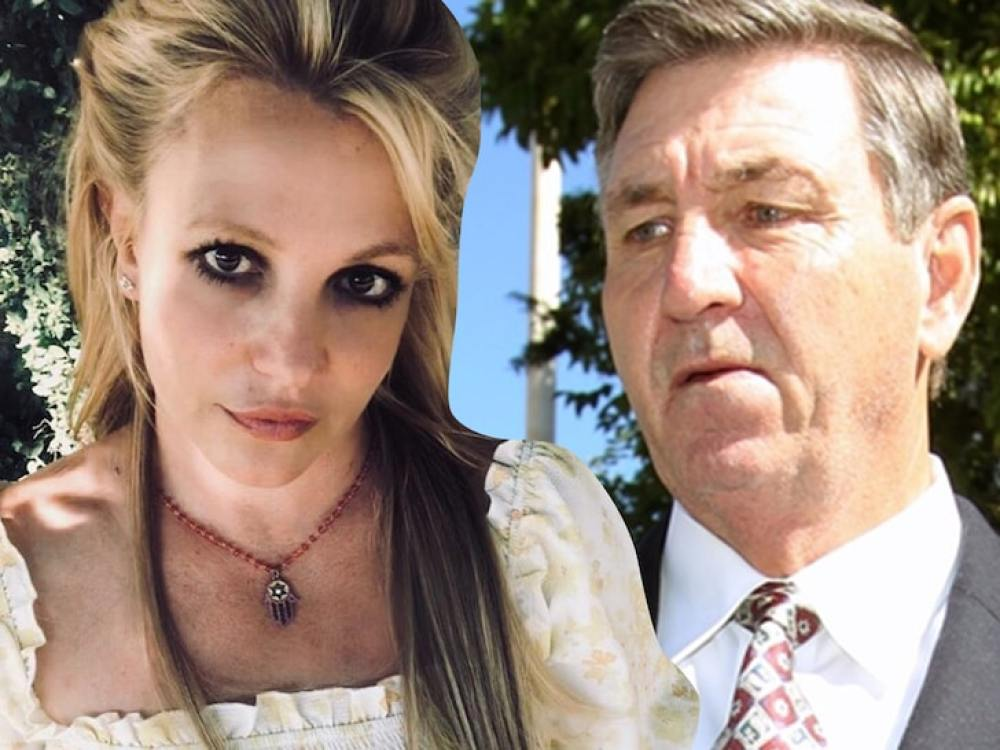 Britney and her father James Spears