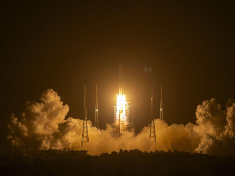 China launches robotic mission to haul Moon rocks back to Earth