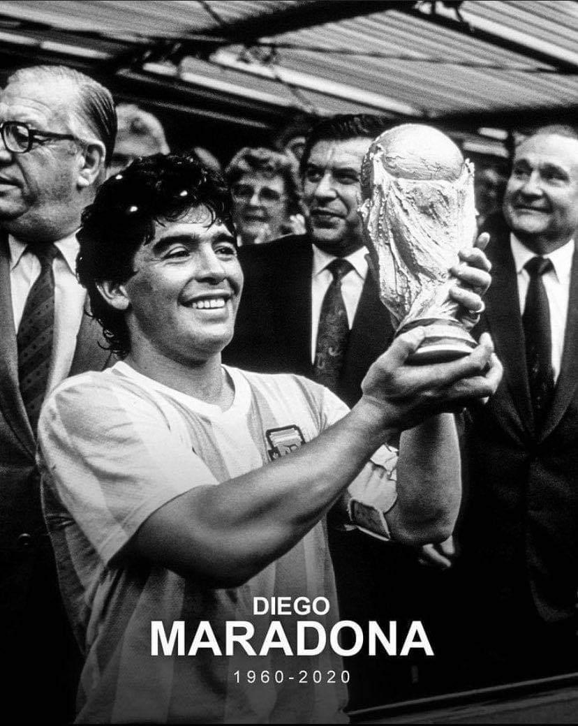 A Tribute to a Legend - Diego Maradona a legend of Sport