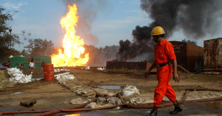 India's deadly oil well blaze extinguished after five months