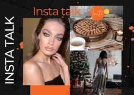 Insta Talk e15: LIVE - Green eyeshadow - Christmas fashion & healthy holiday pecan pie