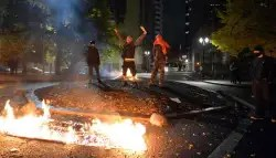 Riots and voilence erupt in the United states, including a shooting after the US Presidential Election