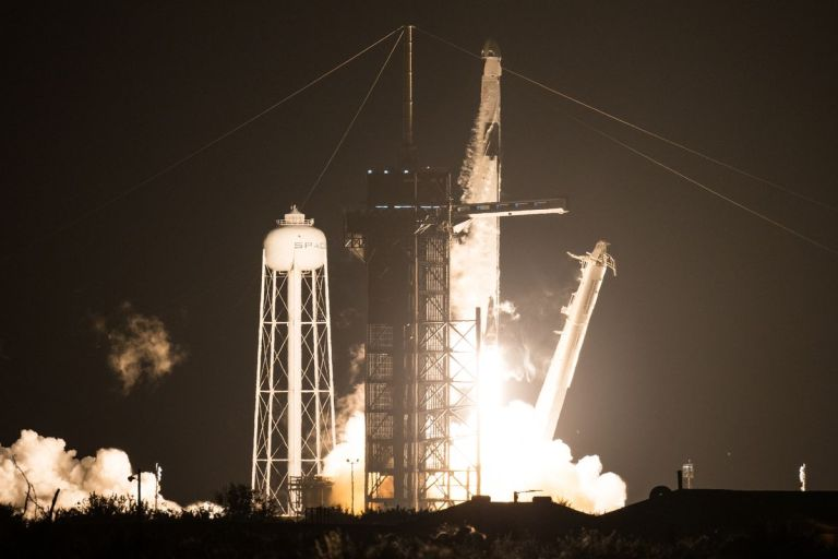 SpaceX, NASA successfully launch first 'operational' private space mission