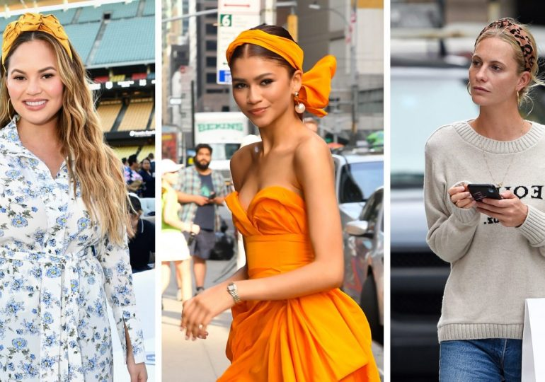 Headbands: The trend that's here to stay - How to wear, according to 8 celebrities