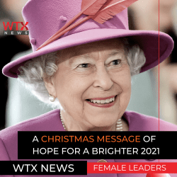 Her Majesty the Queen Addresses the commonwealth in her Christmas message and hopes for a brighter future